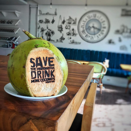Fresh Whole Coconut Water