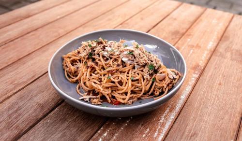 Spaghetti Tuna Sambal Matah
