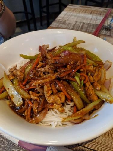 16. Spicy Lemongrass Noodle Bowl