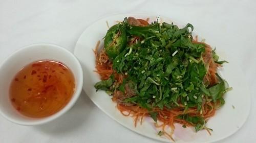 83 - Spicy Beef Salad Thai Style - Gỏi Bò Thái Lan