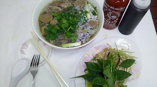 14 - Beef Ball With Rice Noodle - Phở Bò Viên