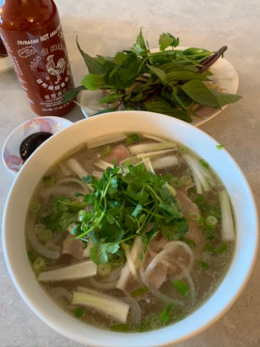 13 - Rare Beef With Rice Noodle - Phở Tái
