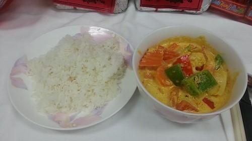 72 - Curried Shrimp Over Rice - Cơm Cà Ri Tôm