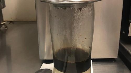124 - Vietnamese Hot Coffee With Milk - Cà Phê Sữa Nóng