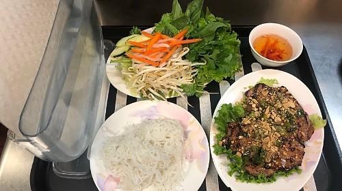 116 - Rice Paper Vegetables - Thịt Heo/ Bò/ Gà (Bánh Tráng)