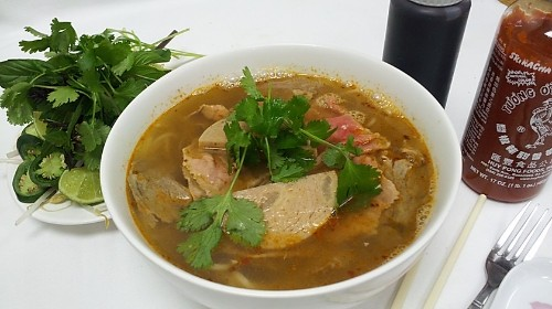 27 - Hot & Spicy Beef Noodle Soup - Bún Bò Huế