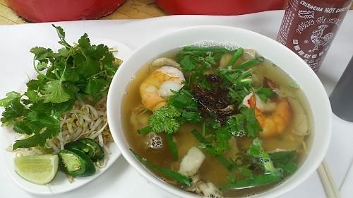 16 - Rice Noodle With Prawn, Pork - Hủ Tiếu Sài Gòn Đặc Biệt