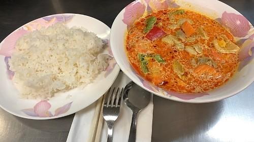 73 - Curried Chicken Over Rice - Cơm Cà Ri Gà