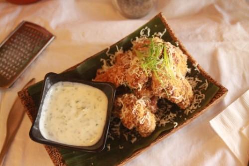 Garlic Sauce Fried Chicken