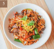 Rice Noodles with Black Pepper Beef