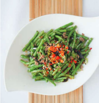 Mince Meat String Beans (pork)