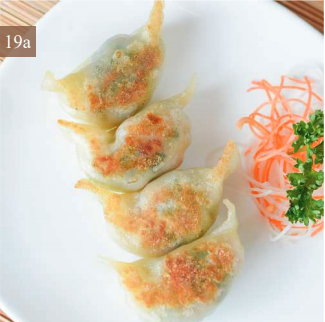 Steamed / Panfried Meat Cabbage Potstickers