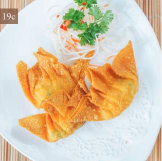 Deep-fried Shrimp Dumpling with Mayonnaise