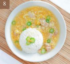 Sweet Corn Chicken Rice