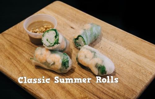 Summer Rolls Classic (Gỏi Cuốn Tôm Thịt)