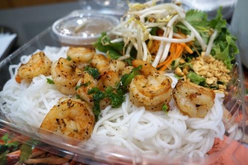 Grill Shrimp Vermicelli (Bún Tôm Nướng)