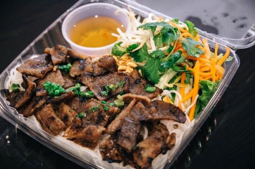 Grill Pork Vermicelli (Bún Thịt Nướng)