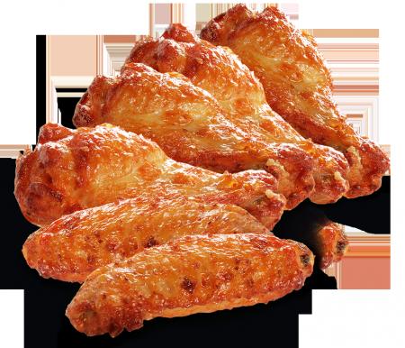 Crispy Cajun Chicken Wings (5 cánh gà cay)