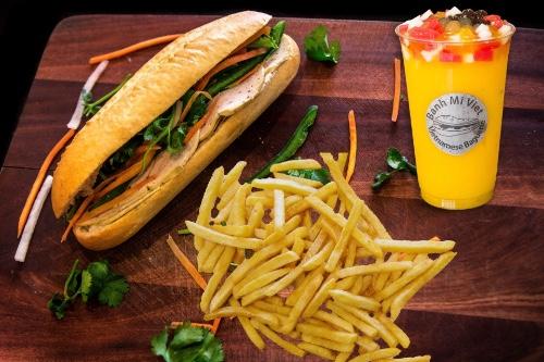 B.M.V. Combo (Traditional Bánh Mì Chả)