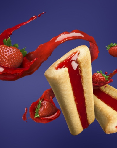 Strawberry Filled Cookie