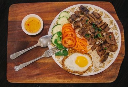Grilled Pork Rice Bowl (Cơm Thịt Nướng)