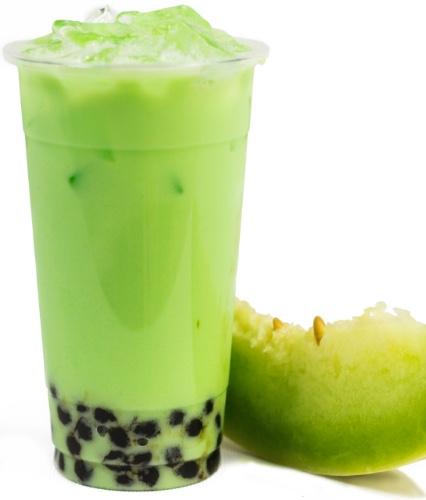 BMV Honeydew Milk Tea