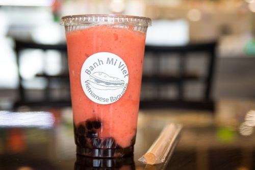 BMV Strawberry Smoothie