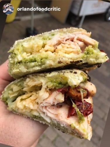 Yuca Mediterranean Sandwich