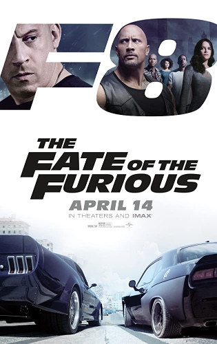 Drive In Movie Admission  09/05/20 (F8 The Fate of the Furious)
