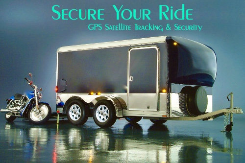 Cargo Trailer Solar Power and Security Package