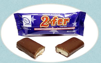 2fer Chocolate Candy Bar