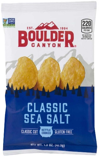 Boulder Canyon Classic Sea Salt Kettle Cooked Chips