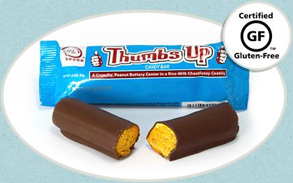 Thumbs Up Chocolate Candy Bar