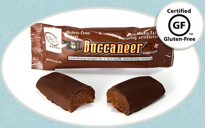 Buccaneer Chocolate Candy Bar