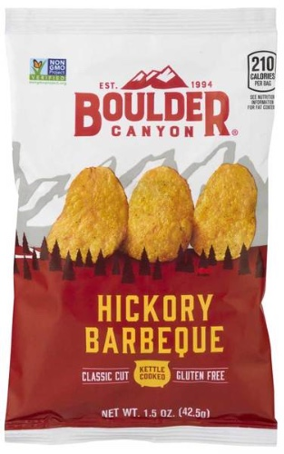 Boulder Canyon Hickory Barbecue Kettle Cooked Chips