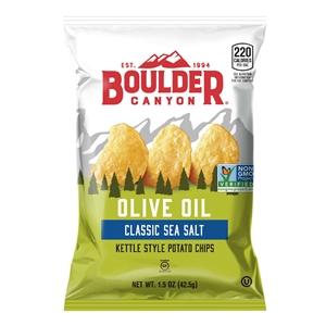 Boulder Canyon Olive Oil Sea Salt Kettle Cooked Chips