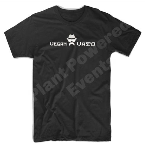"""Vegan Vato"" T-Shirt Small"