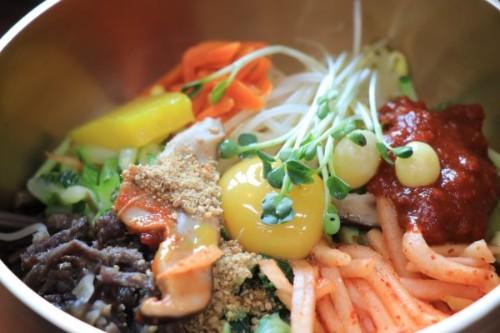 Bibimbap  (비빔밥, 拌饭)