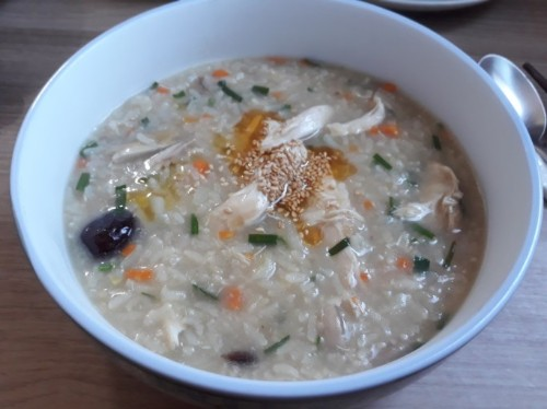 Chicken Rice Porridge (닭 죽, 鸡肉粥 16oz)
