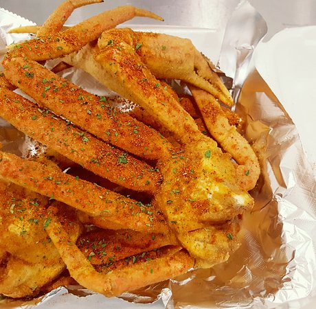 Fried Crab Legs