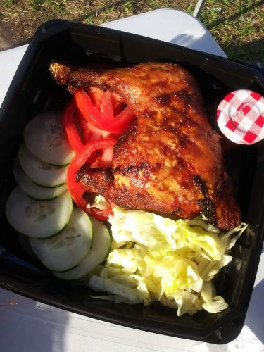 Chicago Style Smoked Chicken