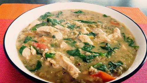 Ginisang Munggo (Mung Bean Stew)