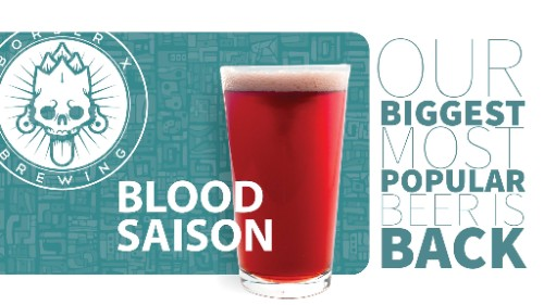Blood Saison (7.5% ABV)