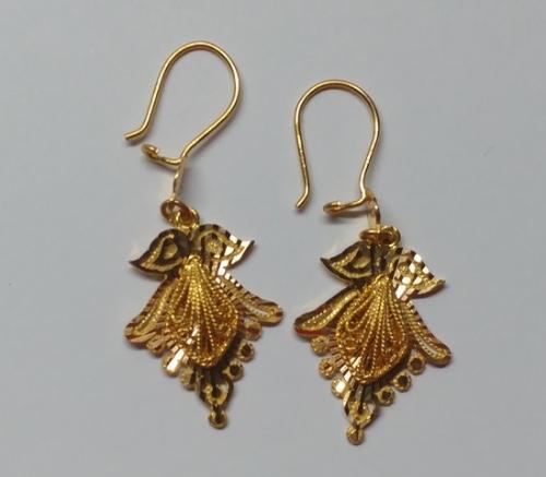 Angel Gold Earrings