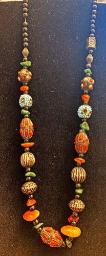 Moroccan Bead  Necklace