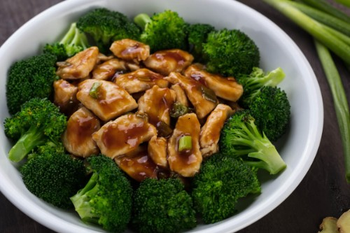 Ginger Chicken with Broccoli