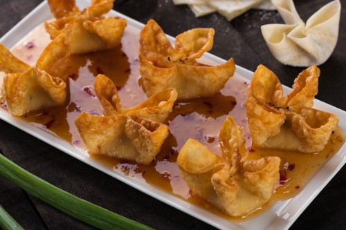 Hand-Folded Crab Wontons   6 Count