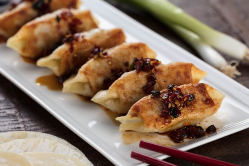 Handmade Pork Dumplings   6 Count