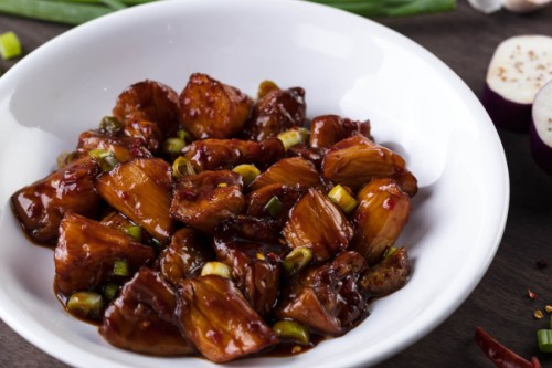 Stir-Fried Eggplant