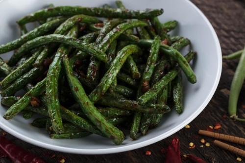 Chili-Garlic Green Beans